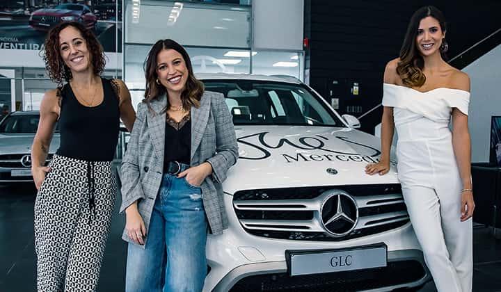 Mercedes-Benz presenta la plataforma She's Mercedes