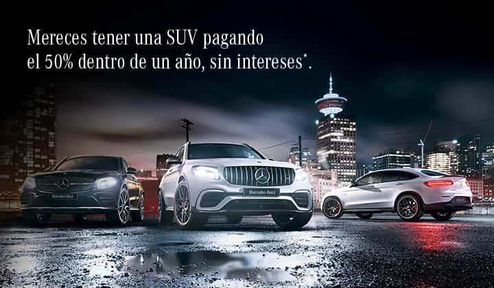 BEST Plan Mercedes-Benz SUVs.