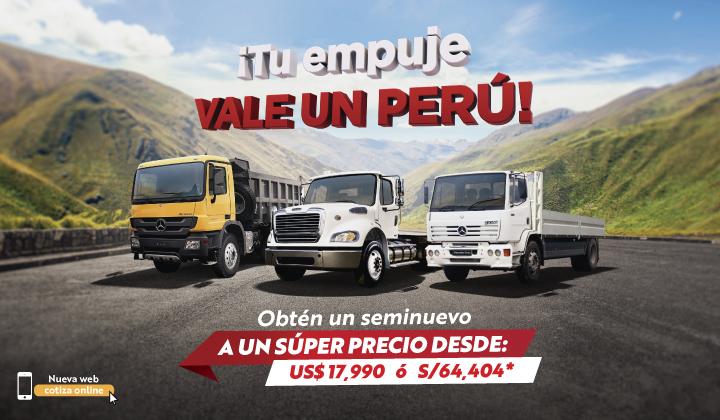 ¡Tu empuje vale un Perú!