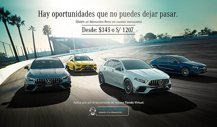 Campaña Julio Cuota Mercedes-Benz.
