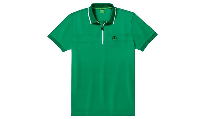 Polo De Caballero  Verde, XL