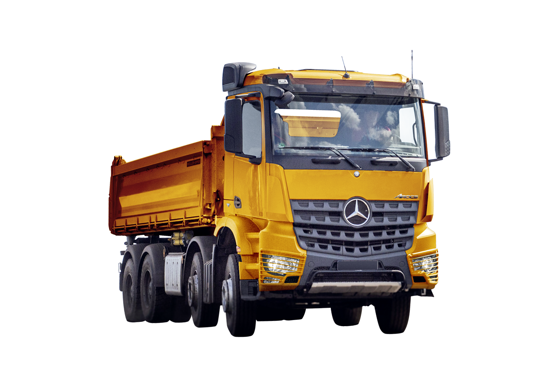 Arocs 4151 8x4 Minero TRC
