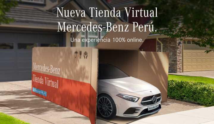 Nueva Tienda Virtual Mercedes-Benz Perú