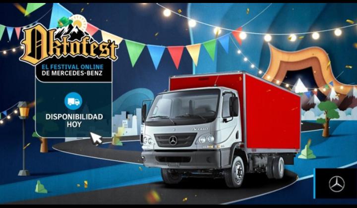 Campaña Oktofest  - El festival online de Mercedes-Benz