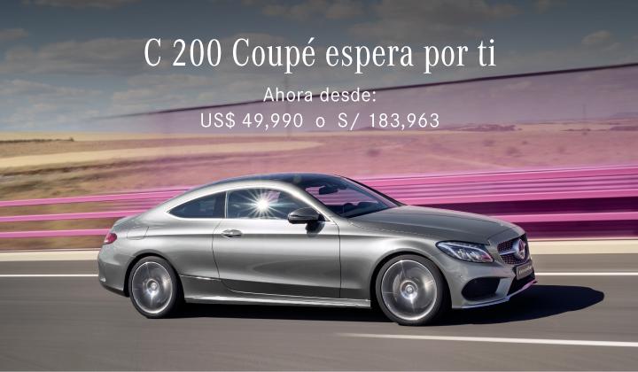 C 200 Coupé espera por ti