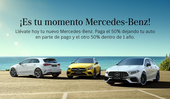¡Es tu momento Mercedes-Benz!