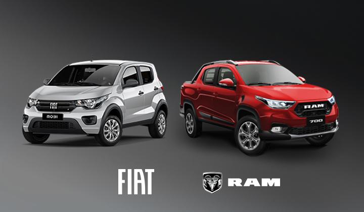Novedades en octubre de Fiat y Ram
