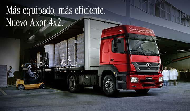 Nuevo Axor 4x2