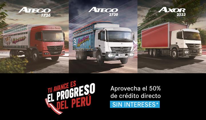 Campaña Camiones – Tu Avance es el progreso del Perú