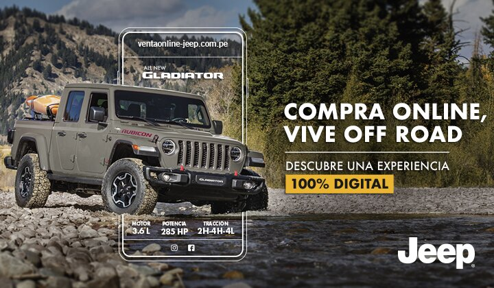 Campaña E-Commerce Jeep