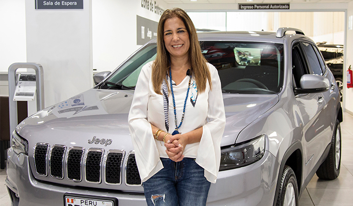 Jeep incluye a la enóloga Cristina Vallarino como nueva embajadora de marca