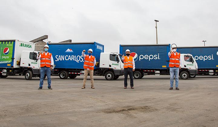 Ransa invierte $2,3 millones en flota de última gama, eficiente y ecoamigable para la logística de CBC Perú