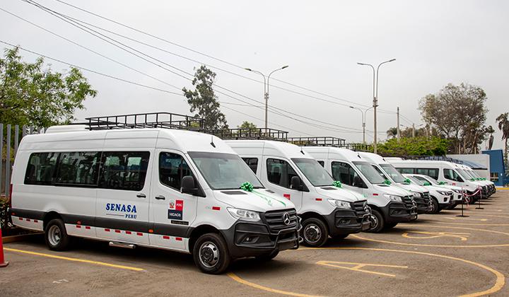 Prodesa adquirió 17 unidades Mercedes-Benz para SENASA