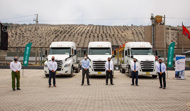 Servicios Generales Saturno, SERGESAT, reafirma su confianza con Divemotor y adquiere 28 unidades Freightliner